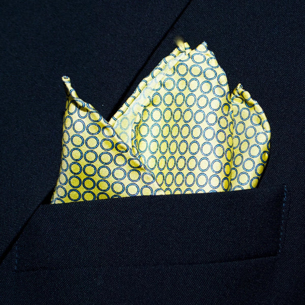 Thin Rings - Pocket Square