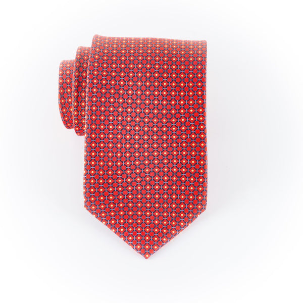 Brackett- Print Regular Tie
