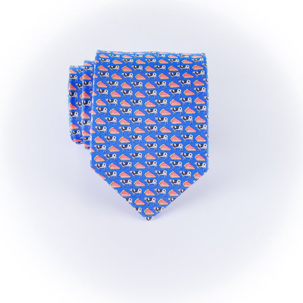 Cow Pie- Print Regular Tie