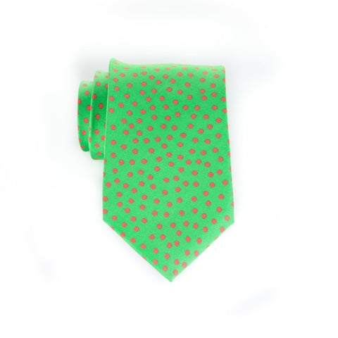 Snow - Print Extra Long Tie