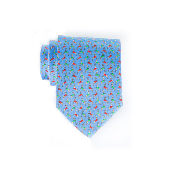 Vested Deer - Print Regular Tie