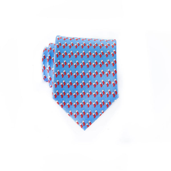 Xmas Stockings - Print Regular Tie