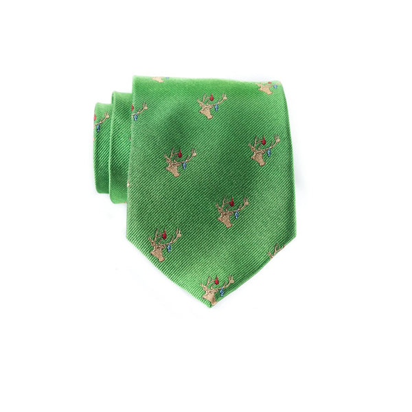 Decked Out Deer - Woven Regular Tie