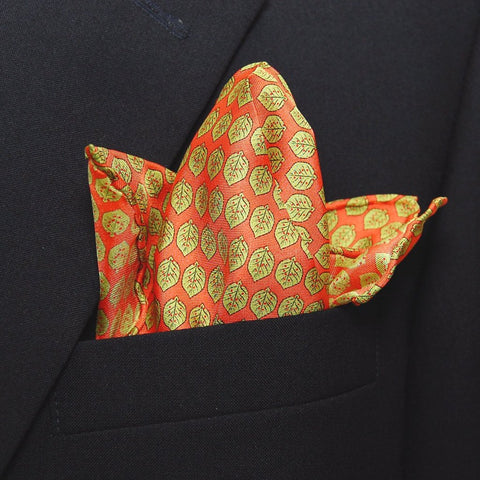 Leaves - Pocket Square