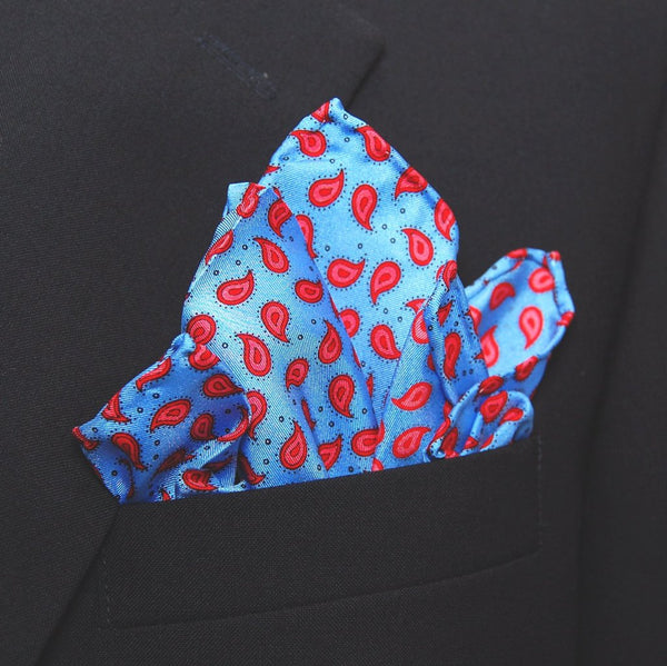 Dotted Pine - Pocket Square