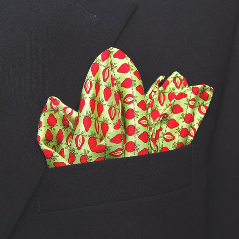 Strawberry - Pocket Square