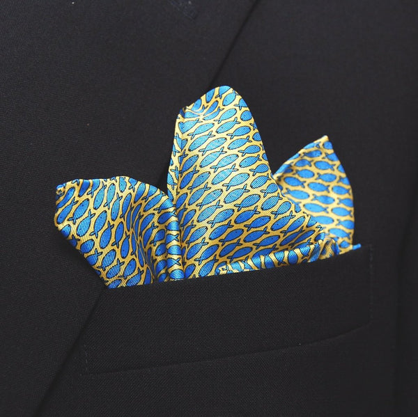 Mini-Fish - Pocket Square