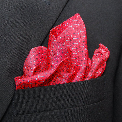 Anchors - Pocket Square