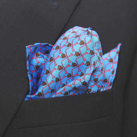 Fox & Horn - Pocket Square