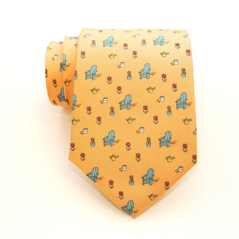 Adirondack Chair - Print Boys Tie