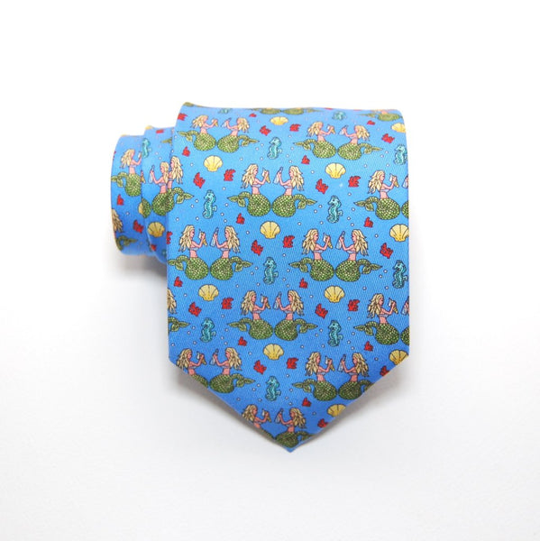 Mermaid - Print Boys Tie