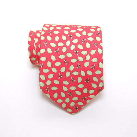 Lemon and Bee - Print Boys Tie