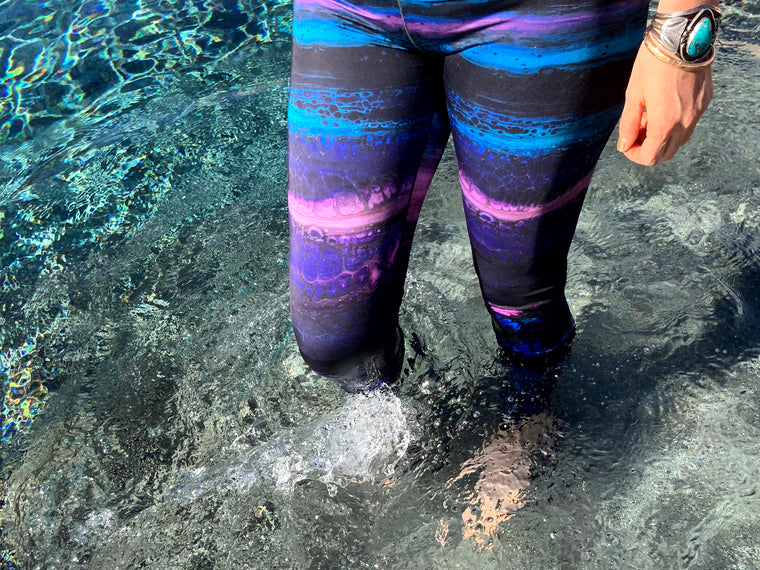 Aquarelle Yoga Legging