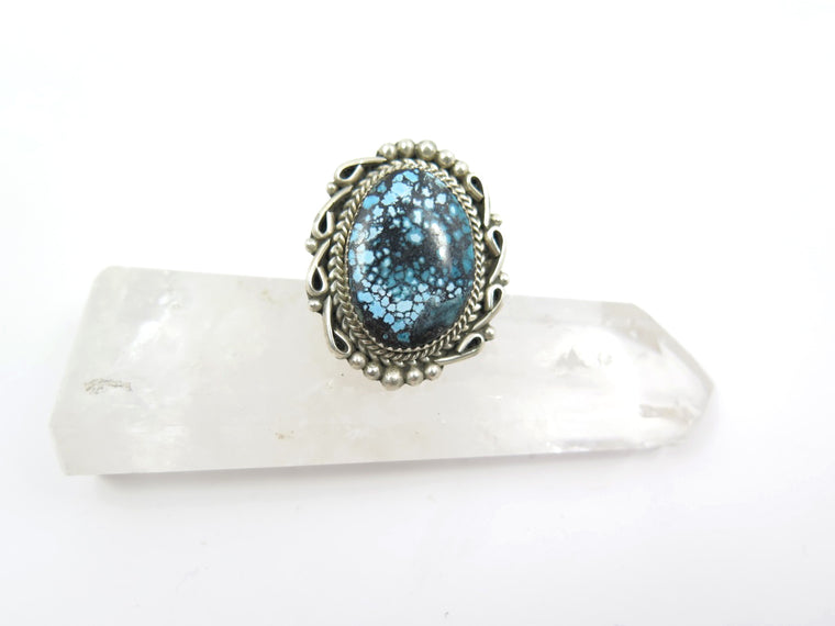 J.SO Spiderweb Turquoise Ring - Wanderlust + Wildhearts