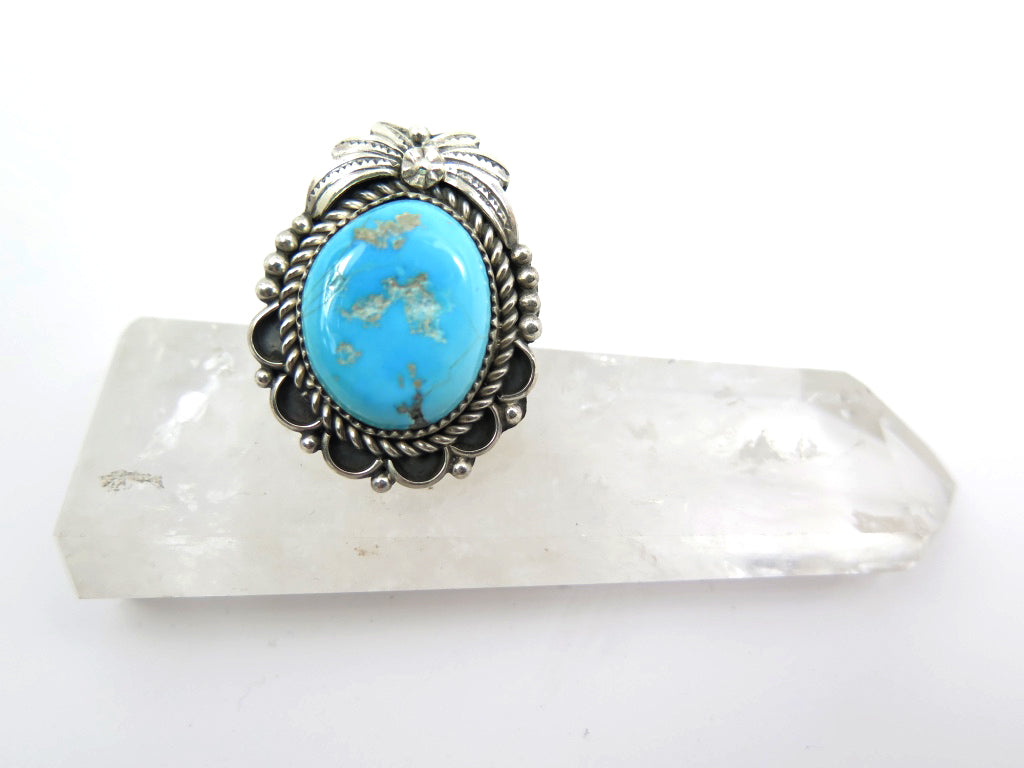 J.SO  Blue Valley Turquoise Ring - Wanderlust + Wildhearts