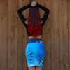 Whale Song Travel Skirt - Wanderlust + Wildhearts