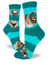 Sloth Socks- Teal