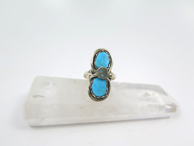 """Effie Calavazza"" Signed Turquoise Ring - Wanderlust + Wildhearts"