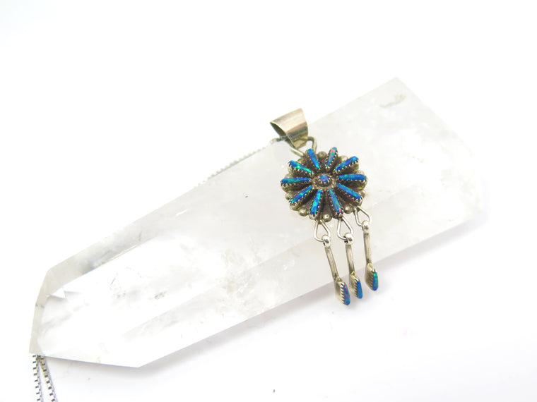 Opal Needle Point Necklace - Wanderlust + Wildhearts