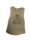 Lunar Cycle Timberline Wolves Flowy Scoop Tank - Wanderlust + Wildhearts
