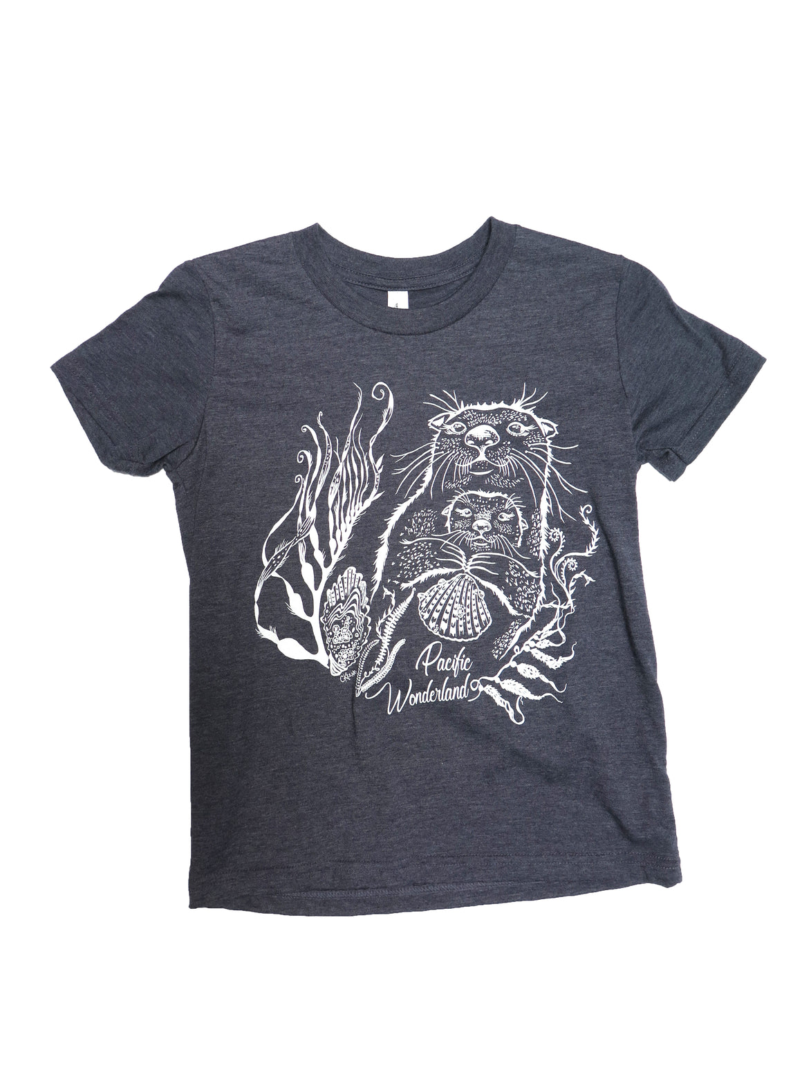 Sea Otter Youth Tee - Wanderlust + Wildhearts