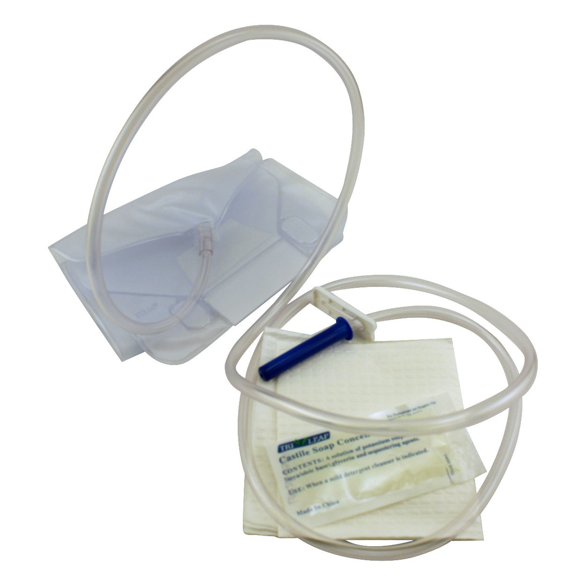 Enema Bag Set - 1.5 Quarts - Hospital Style