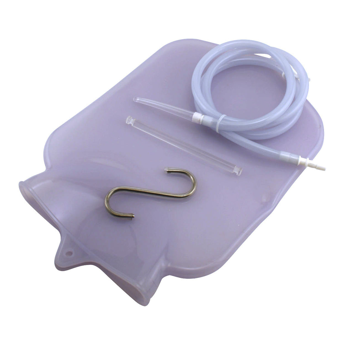Shower Cleansing System - 1 Gallon Silicone Enema Bag
