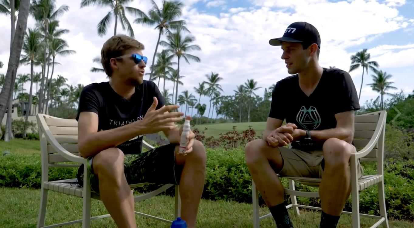David McNamee and Global Triathlon Network on Kona Ironman