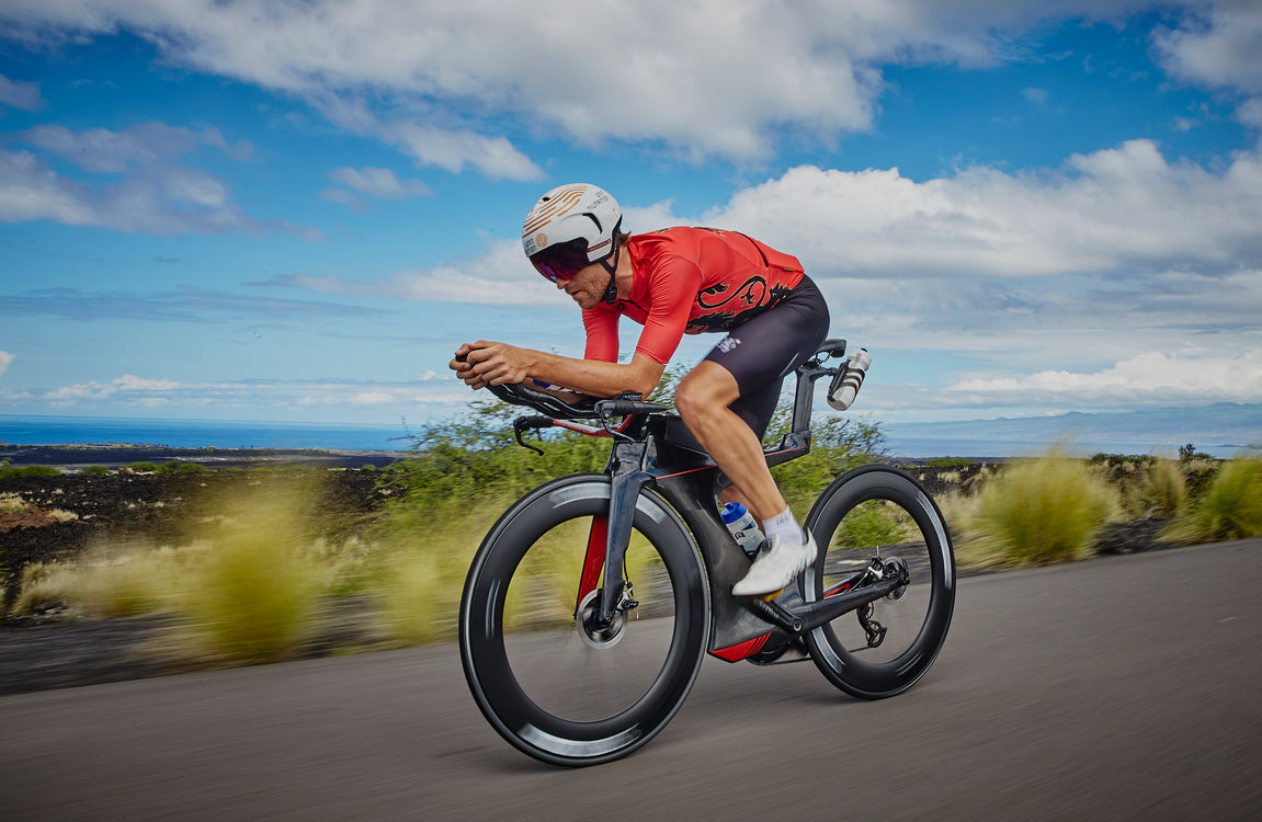 David McNamee Ironman World Championships Carb-Rinsing