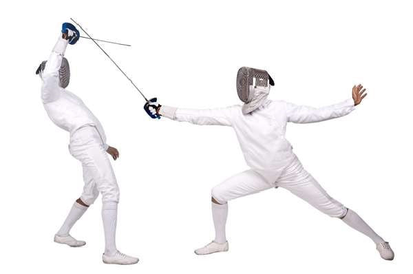 carb-rinsing fencing training