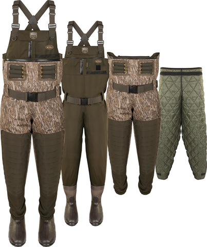 Guardian Elite™ 6-Layer 4-in-1 Chest Wader with Tear-Away Liner [Stout/King]