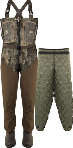 Front Zip Guardian Elite 4-Layer Wader w/ Tear-Away Liner [King/Stout]