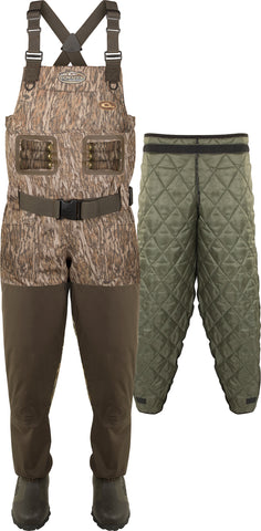 Eqwader 1600 Breathable Wader with Tear-Away Liner [Regular/Short & Slim]
