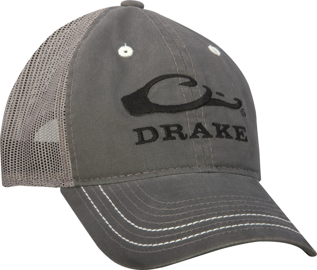 71e72f122c9 Drake Mesh Back Logo Cap – Drake Waterfowl
