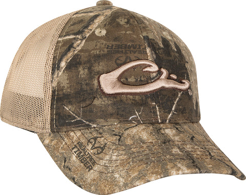 b06a5fbd70a 6-Panel Camo Mesh-Back Cap. Realtree Timber. Mossy Oak Bottomland. Mossy  Oak Blades