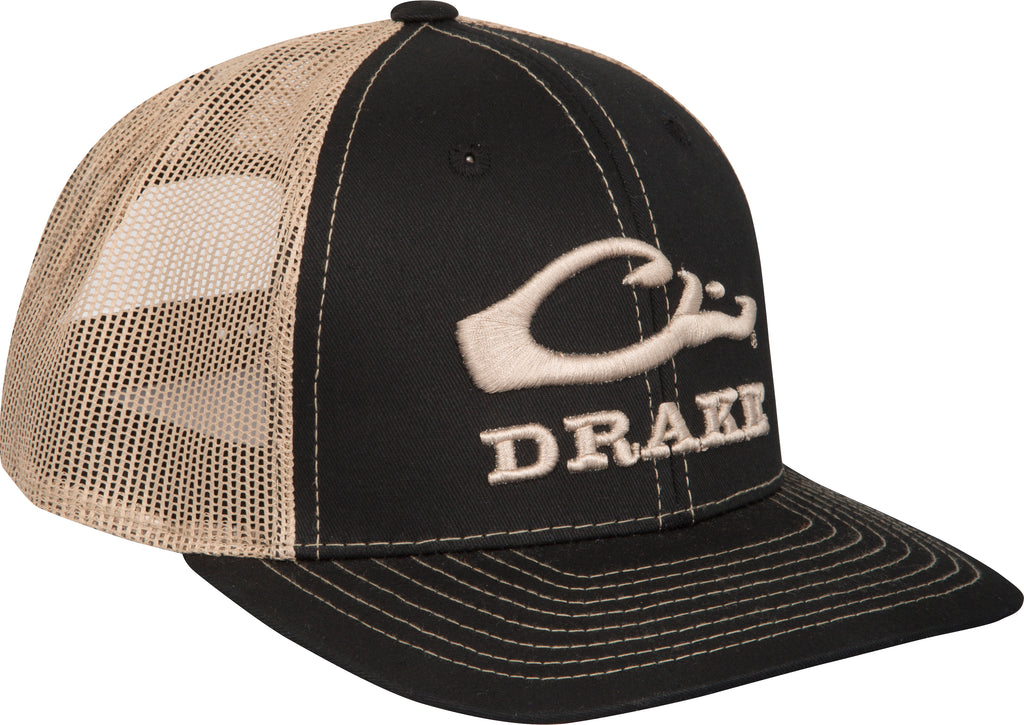 0707f879449 Logo Mesh Back Cap – Drake Waterfowl