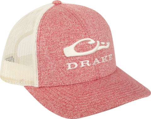 Drake Heather Mesh Back Cap