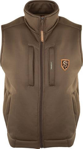 Non-Typical Soft Shell Fleece Vest