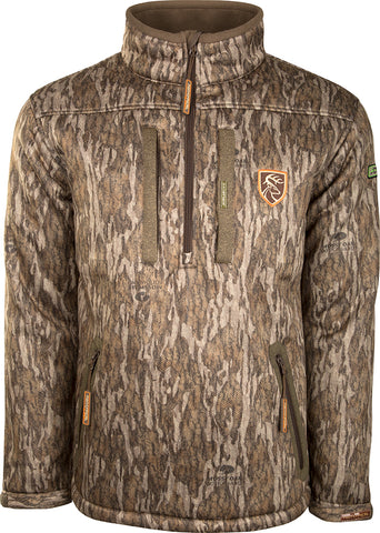 Silencer 1/4 Zip Jacket Full Camo with Agion Active XL™