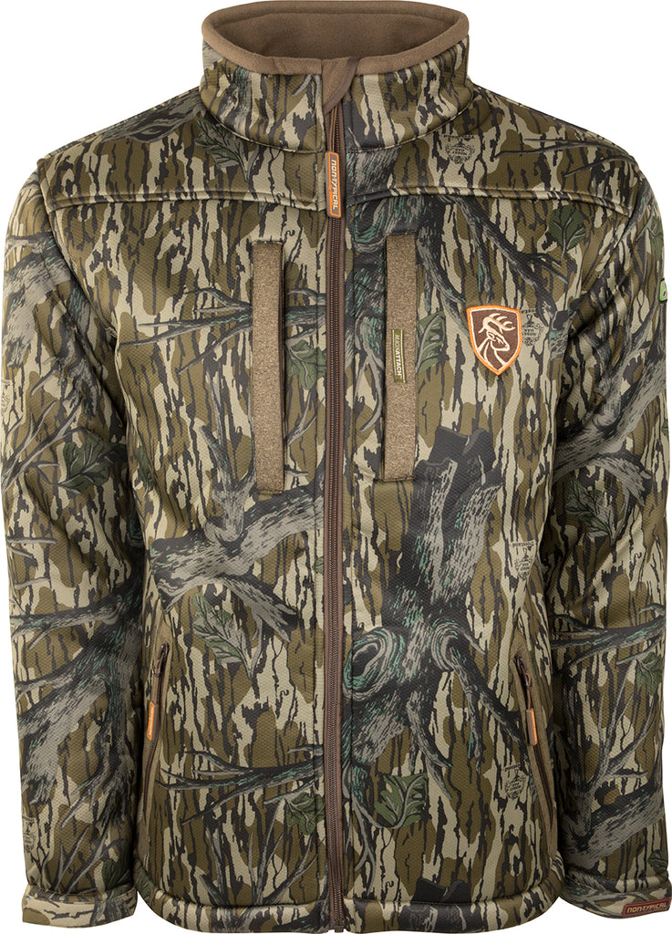 a86fb852c9078 Silencer Full Zip Jacket Full Camo with Agion Active XL™ – Drake Waterfowl