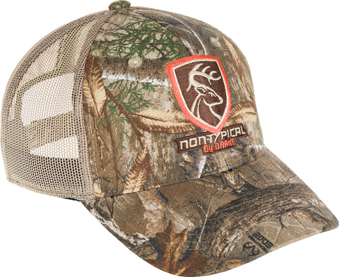 Non-Typical Logo Camo Mesh Back Cap