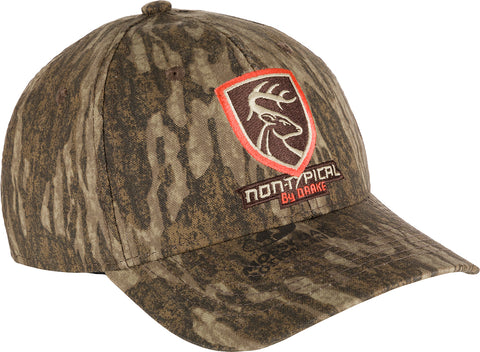 Non-Typical Logo Camo Cotton Cap