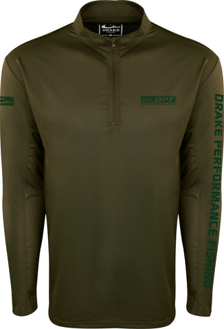 Shield 4™ Arched Mesh Back 1/4 Zip L/S