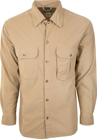 Three Pocket Micro-Fleece Shirt