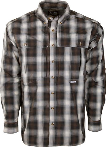 Wingshooter's Small Check Plaid Long Sleeve