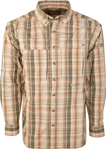 Wingshooter's Madras Plaid L/S