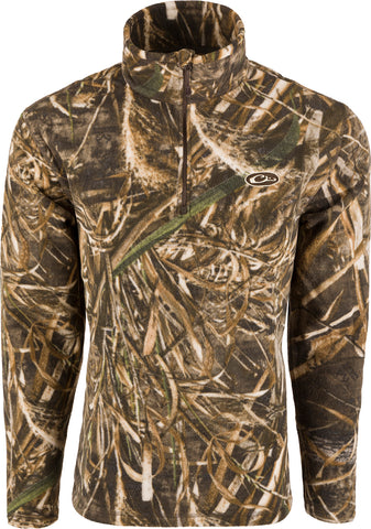 MST Camo Camp Fleece 1/4 Zip