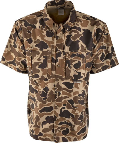 S/S Camo Wingshooter's Shirt (Old School)