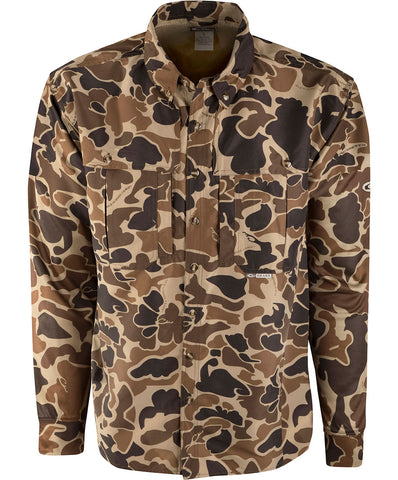 L/S Camo Wingshooter's Shirt (Old School)