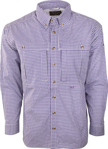 Gingham Plaid Wingshooter's Shirt L/S